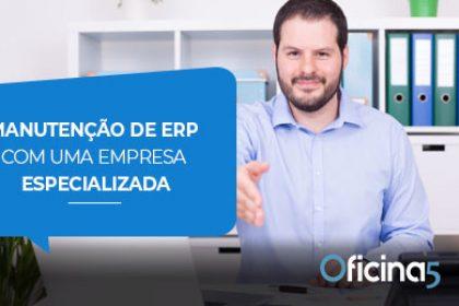 manutenção de ERP