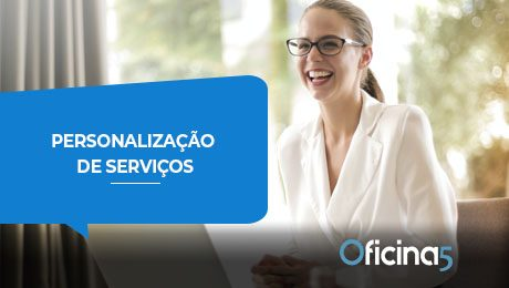 personalização de serviços